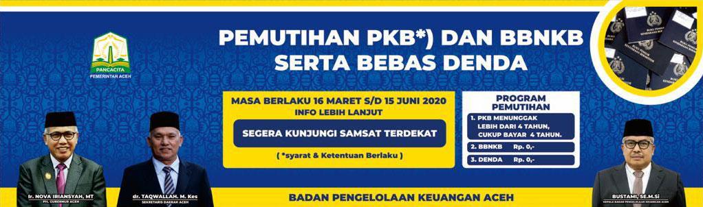 Pemutihan pajak Kenderaan di Aceh