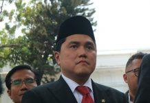 Erick Thohir Foto Kompas