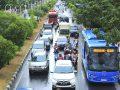 Trans Koetaradja di Jalan Daud Beureueh, menuju Jambo Tape. (Foto PM/Oviyandi Emnur)